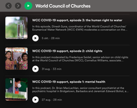 As interest keeps increasing, WCC podcasts now available on Spotify
