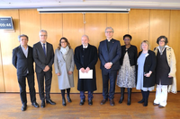L'ancien président brésilien Lula en visite au Centre œcuménique à Genève